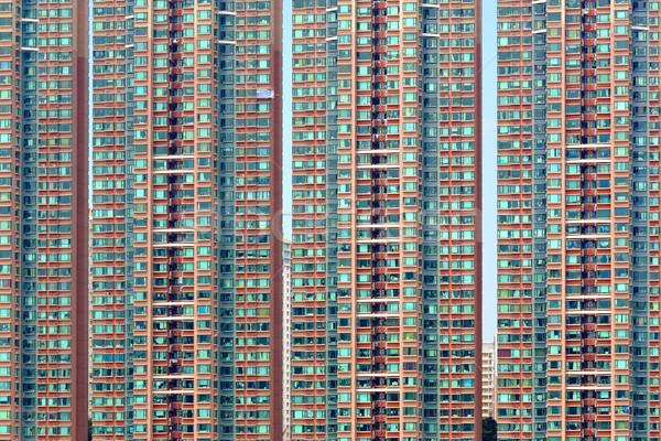 apartment building Stock photo © leungchopan