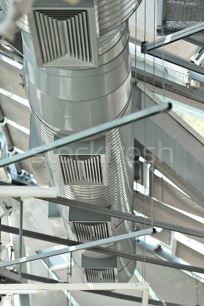 Ventilation pipes of an air condition Stock photo © leungchopan