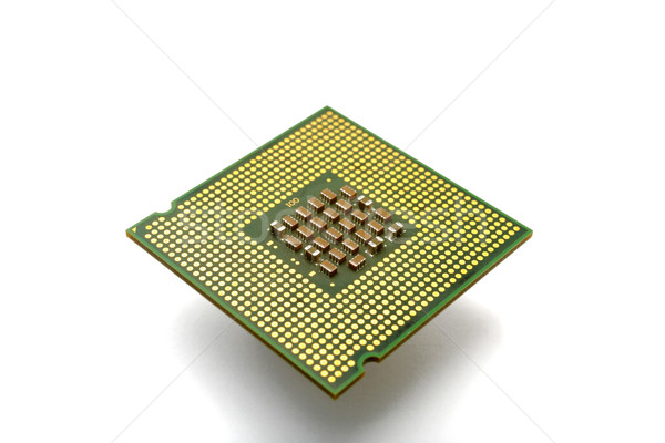 Cpu bilgisayar soyut dizayn anne ağ Stok fotoğraf © leungchopan