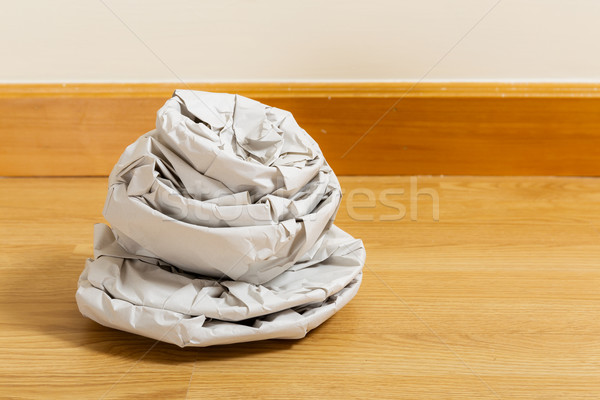 Kitchen utensil wrapped by paper Stock photo © leungchopan
