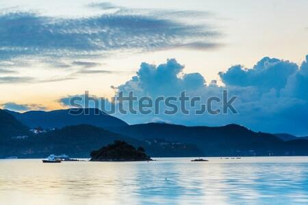 Seascape at morning Stock photo © leungchopan