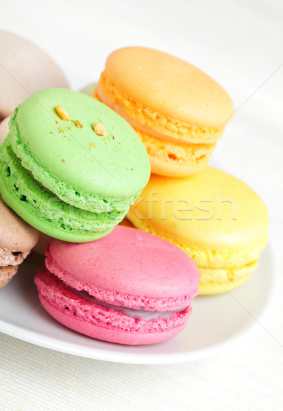 colorful macaron Stock photo © leungchopan