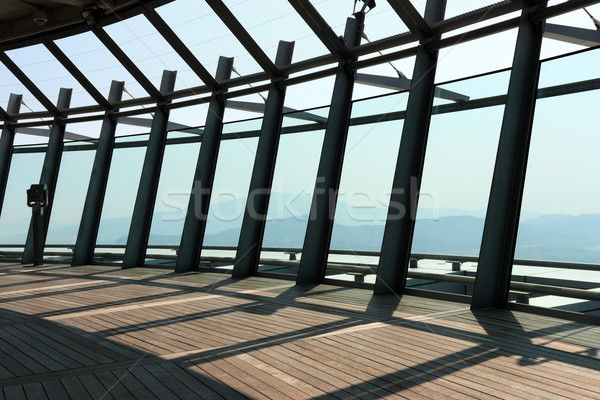 The observation level of macau tower Stock photo © leungchopan