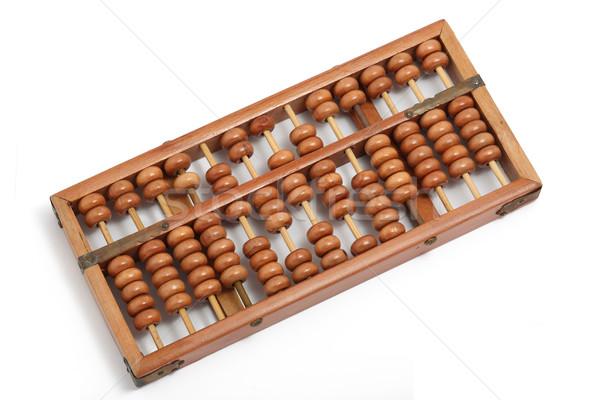 Abacus vintage wetenschap corporate Mac Stockfoto © leungchopan