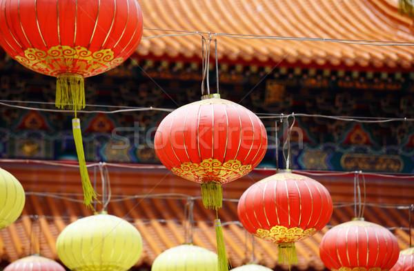 Chinese Lantern Stock photo © leungchopan