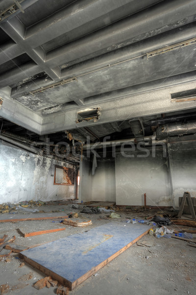 discarded building, room Stock photo © leungchopan