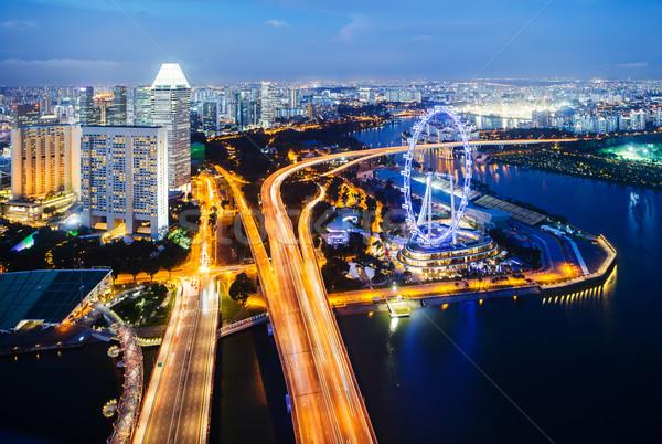 Singapore landscape Stock photo © leungchopan