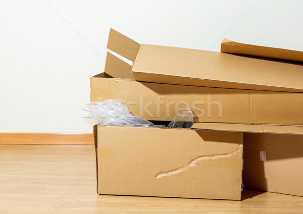 Used Carton box Stock photo © leungchopan