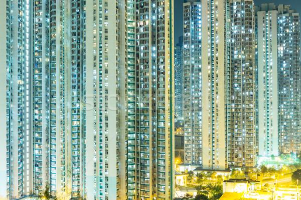 Public estate in Hong Kong Stock photo © leungchopan