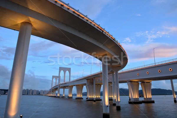 Sai Van bridge in Macau Stock photo © leungchopan
