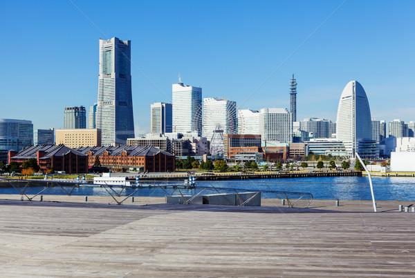Иокогама Skyline Япония бизнеса служба здании Сток-фото © leungchopan