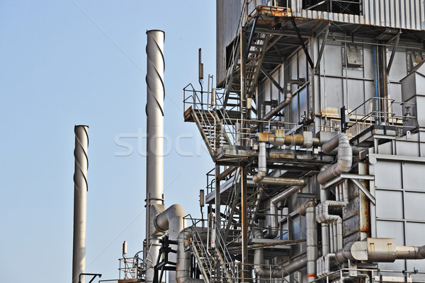 Gas industry Stock photo © leungchopan