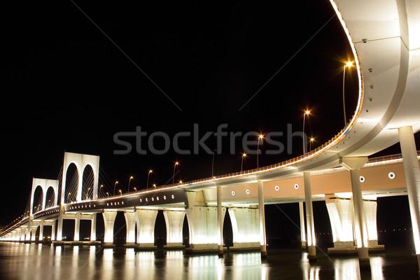 Sai Van bridge in Macau Stock photo © leungchopan