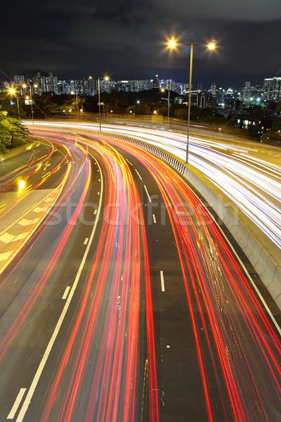 Highway traffic Stock photo © leungchopan