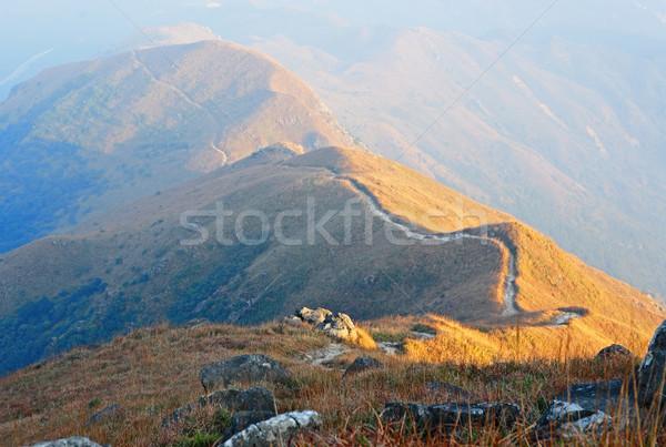 mountain path Stock photo © leungchopan