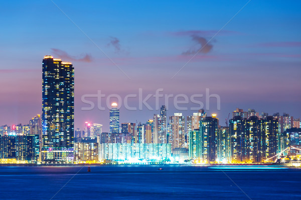 Residential building in Kowloon Stock photo © leungchopan