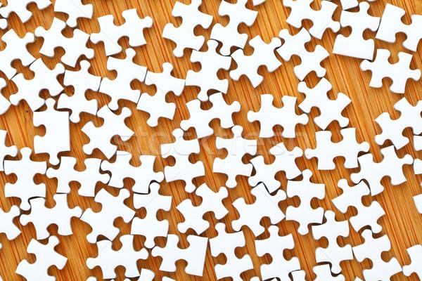 Puzzle pieces Stock photo © leungchopan