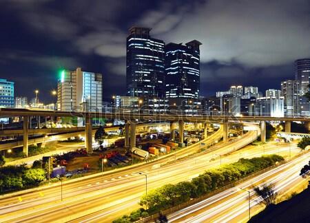 Gangnam district in Seoul Stock photo © leungchopan