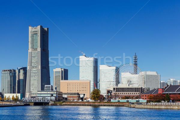 Сток-фото: Иокогама · Skyline · Япония · бизнеса · здании · город