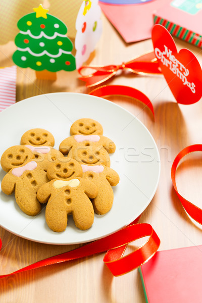 Gingerbread for x mas Stock photo © leungchopan