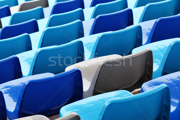 Stadium seats Stock photo © leungchopan