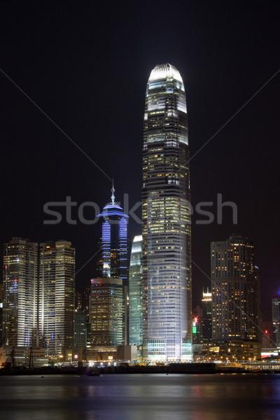 Hong Kong International Finance Center  Stock photo © leungchopan