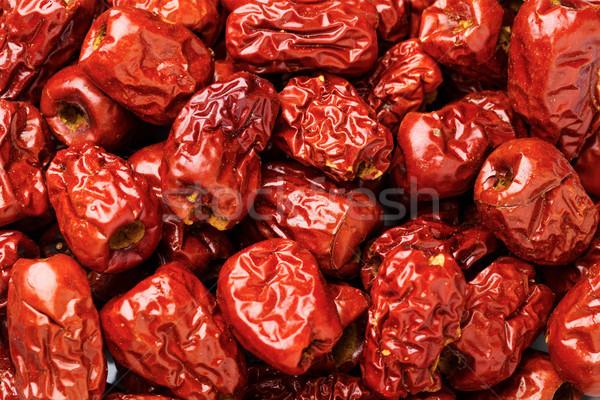 красный фрукты китайский Sweet трава органический Сток-фото © leungchopan