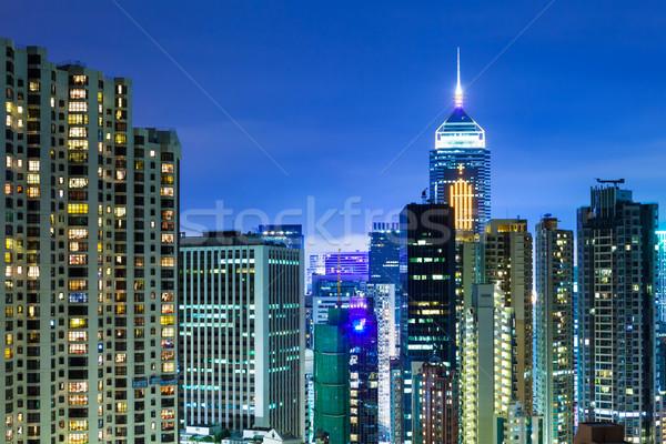 アパート 香港 1泊 スカイライン 景観 アパート ストックフォト © leungchopan