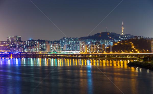 Seoul skyline  Stock photo © leungchopan