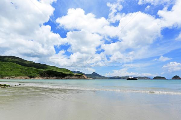 Beautiful beach on island Stock photo © leungchopan