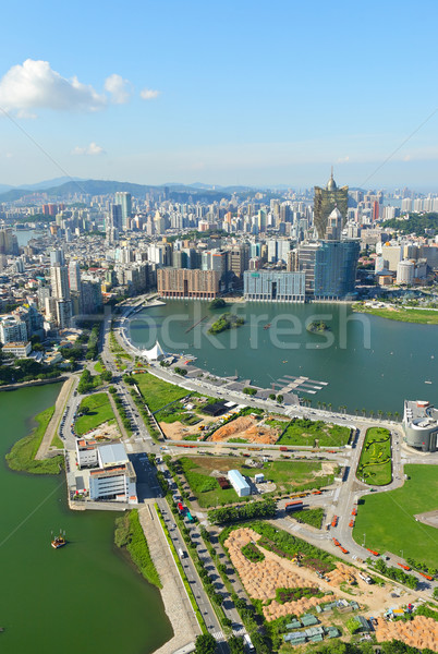 Macau city Stock photo © leungchopan