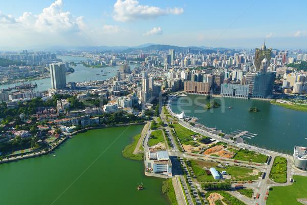 Macao city Stock photo © leungchopan