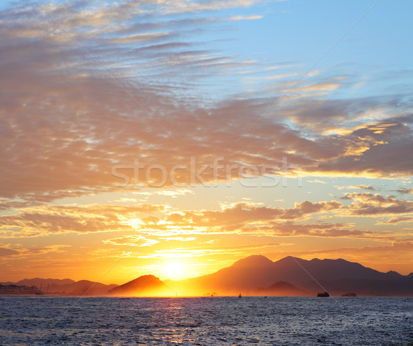 sunset Stock photo © leungchopan