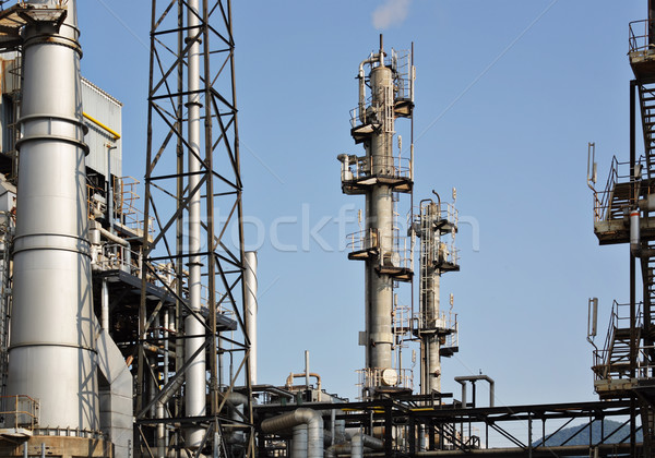 gas processing factory Stock photo © leungchopan