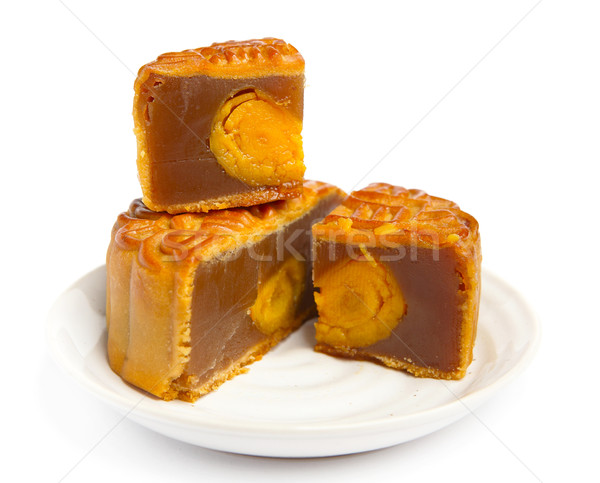 moon cake for chinese mid autumn  festival Stock photo © leungchopan
