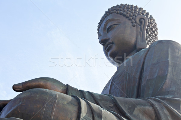 Tian Tan Buddha Stock photo © leungchopan