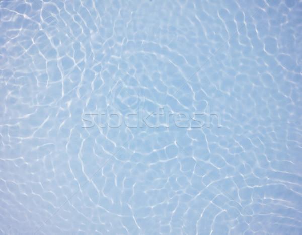 Blu acqua ripple sfondo onda Foto d'archivio © leungchopan