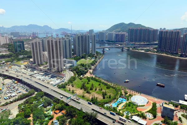urban city Hong Kong Stock photo © leungchopan