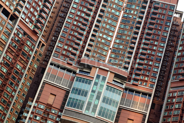 apartment building Stock photo © leungchopan