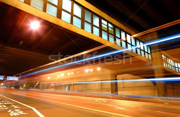traffic at night Stock photo © leungchopan
