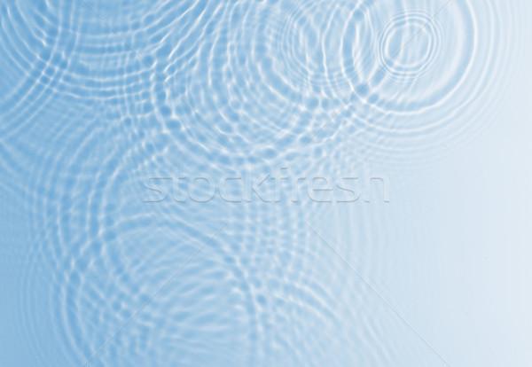 Acqua ripple blu colore Foto d'archivio © leungchopan
