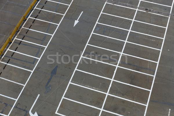Empty outdoor car park Stock photo © leungchopan