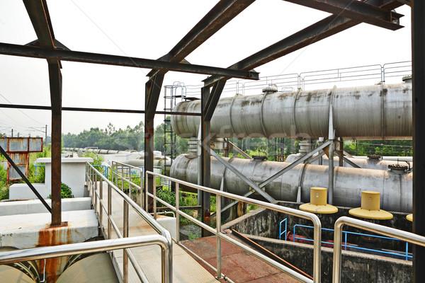 Industrial zone Stock photo © leungchopan