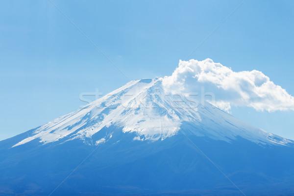 Montanha fuji céu paisagem luz azul Foto stock © leungchopan