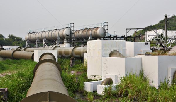 metal tanks Stock photo © leungchopan