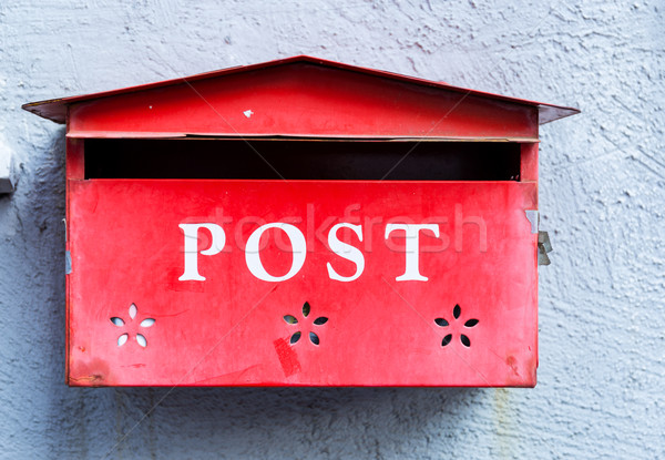 Post box Stock photo © leungchopan