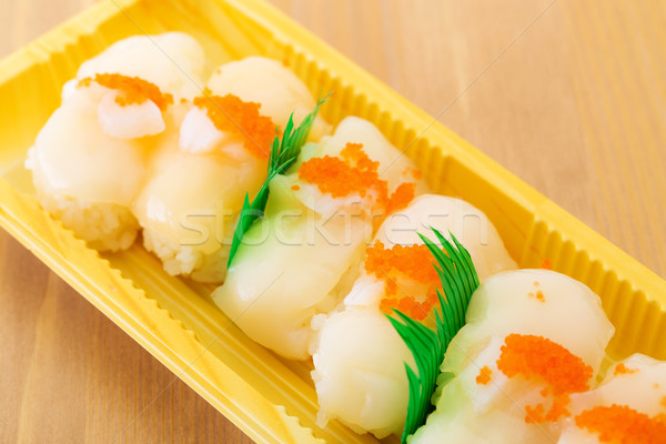 Fresh scallop Stock photo © leungchopan