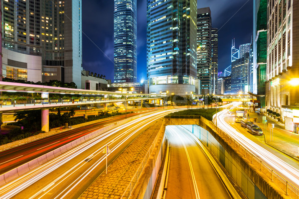 Hong Kong city skyline Stock photo © leungchopan