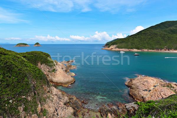 Sai Wan bay in Hong Kong Stock photo © leungchopan