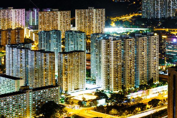 Stock photo: Hong Kong cityscape